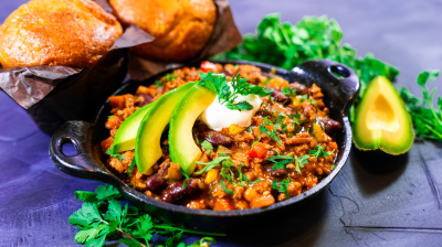Loaded Meat and Vegetable Chili