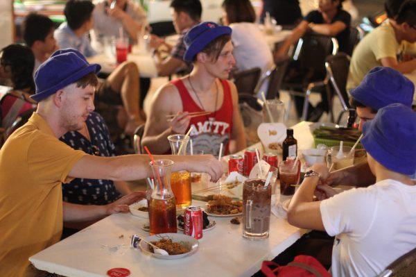 Travelling Snack Restaurant, food van-  hawkers stall