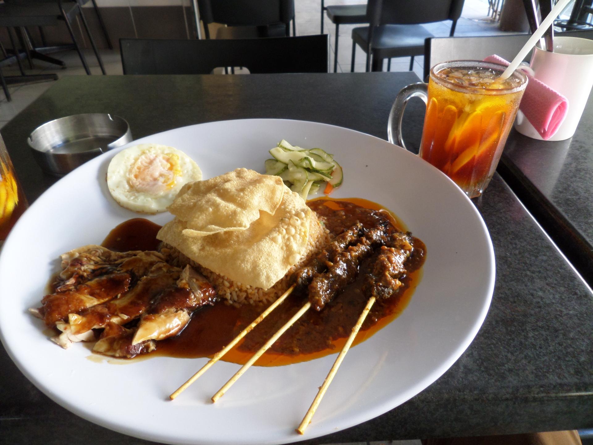 Travelling Snack Restaurant, food van- Satay