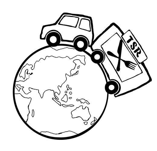 Travelling Snack Restaurant, food van-logo