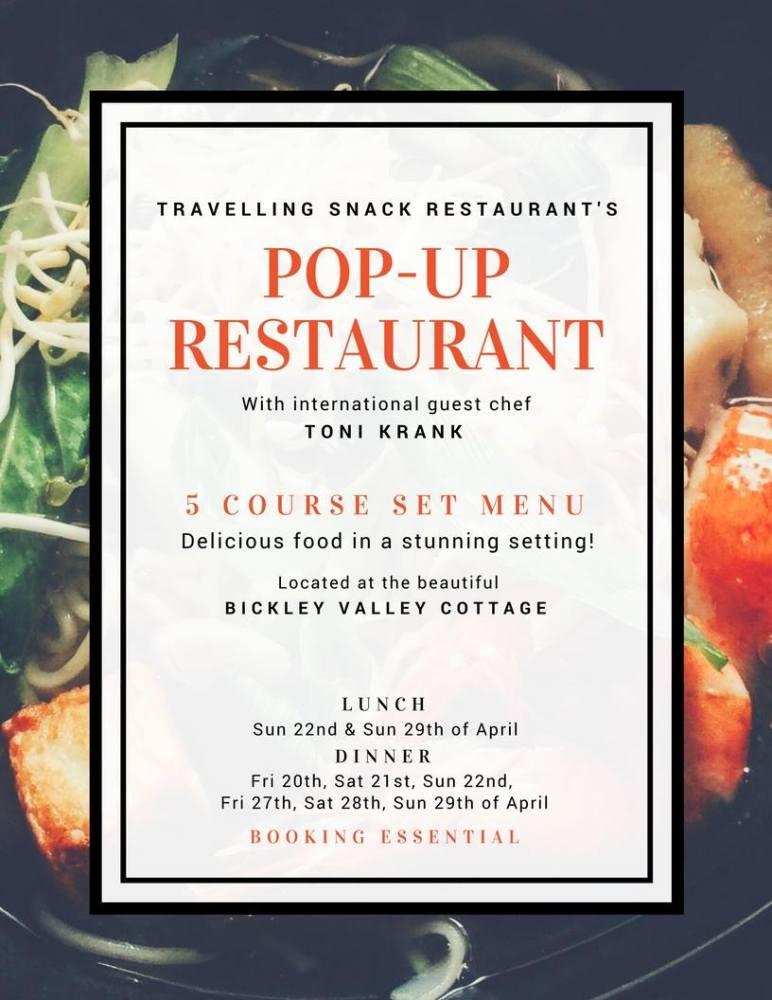 5 Course set menu with guest chef Toni Krank