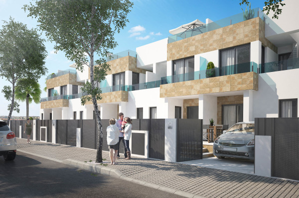 NEW BUILD VILLAS VILLAMARTIN  204.000€