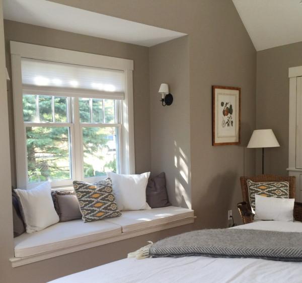 1st Floor Master Bedroom Window seat