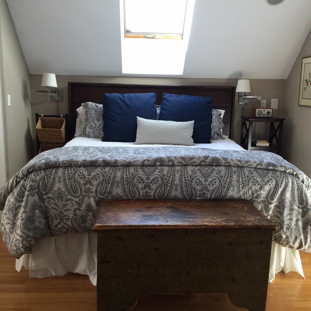 Upstairs King Bedroom Suite