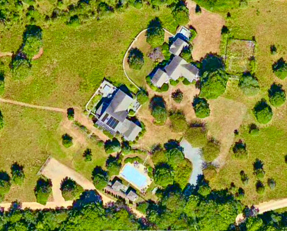 Aerial View of 3 Acre Property