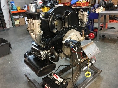First start of engine