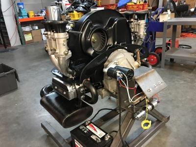 First start of engine