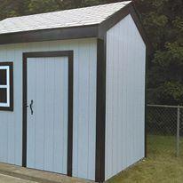 rebuilt shed