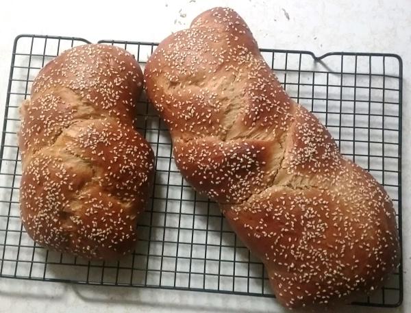 Organic Challah bread