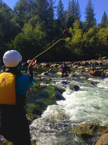 Swift Water Rescue class, Sierra Rescue
