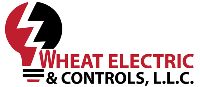 logo of wheat electric and controls llc logo