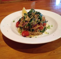 Pasta dish Village Cafe Restaurant Laurieton