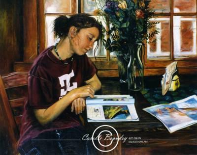 G8-015 Portrait de Maude