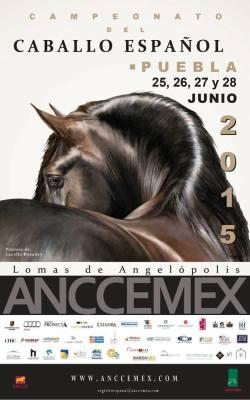ANCCEMEX Campeonato del Caballo Espanol magazine, Mexico. 2015