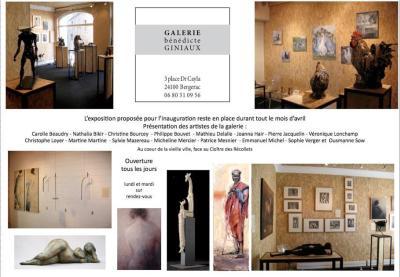Galerie Bénédicte Giniaux, Bergerac, France