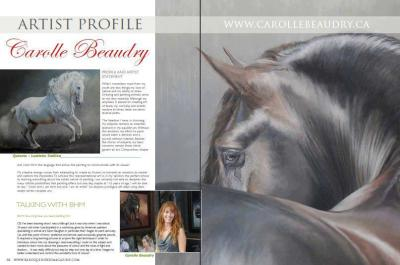 Baroque Horses Magazine, Australie. Issue 7, 2012