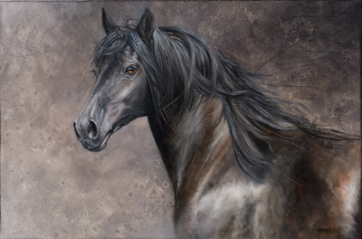 Reproduction Giclee sur toile de Carolle Beaudry, Artiste peintre