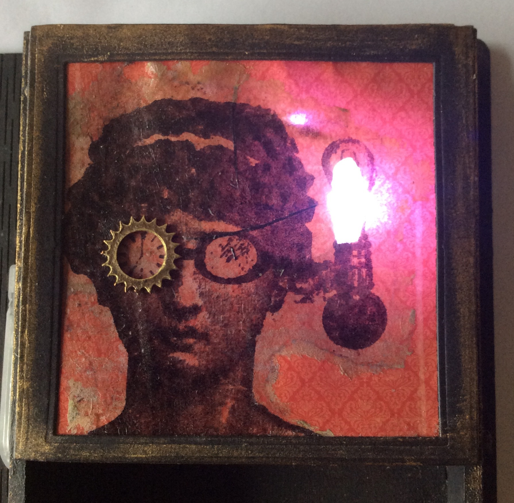 Steampunk Jane with light