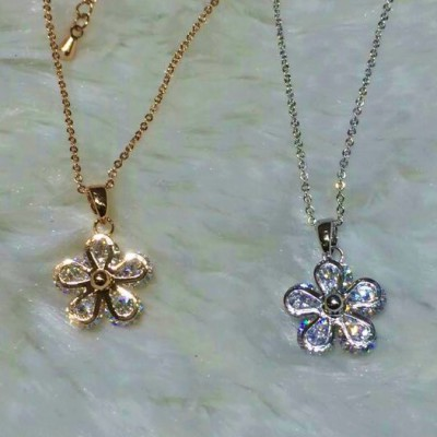 18 KARAT GOLD-PLATED PENDANT & NECKLACE