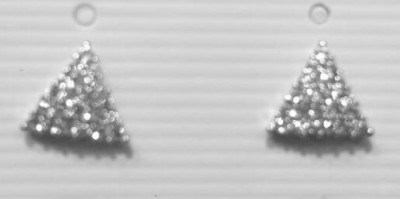 18 KARAT GOLD-PLATED EARRINGS