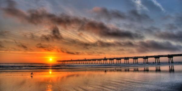 Jacksonville Beaches Sunset