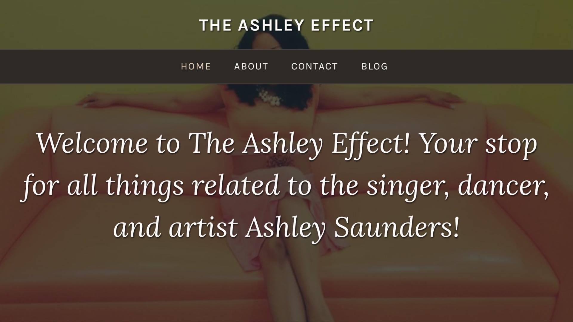 THE ASHLEY EFFECT