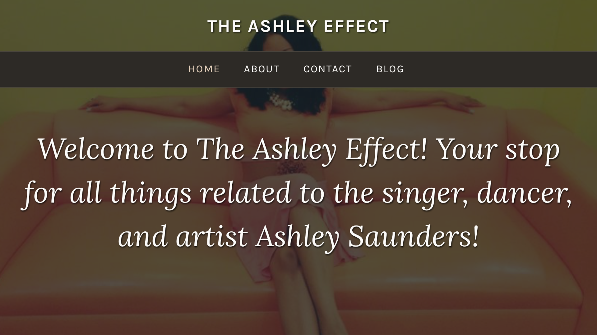 THE ASHLEY EFFECT