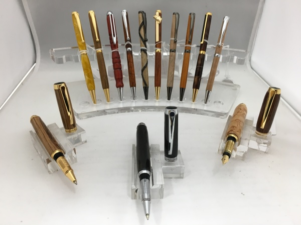 Twist and Fountain Pens