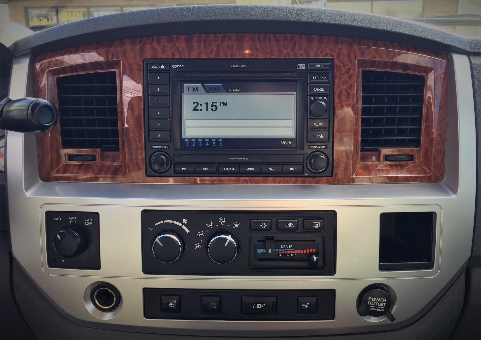 2007 Dodge Ram 3500 Interior