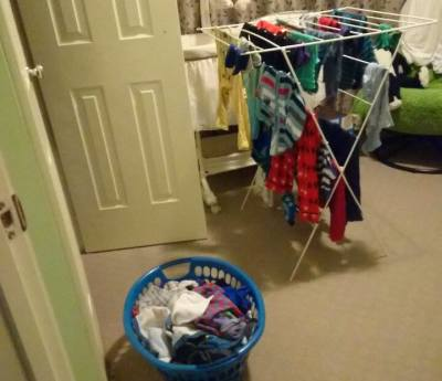 Keeping It Real about cleanliness versus clutter…