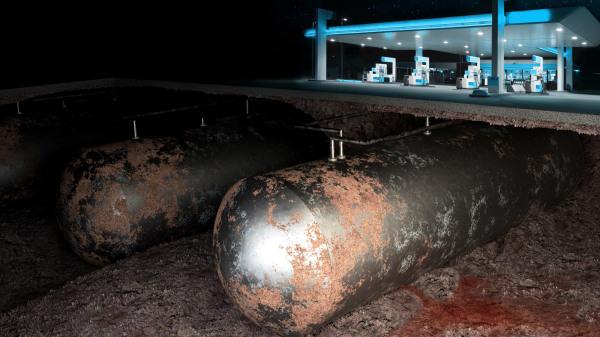 Intanka Petrol Tank rust leaking