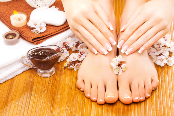 Heavenly Retreat Day Spa Hands and feet, Mani and Pedicure