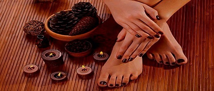 Hands and Feet, Manicure and Pedicure at Heavenly retreat Day Spa