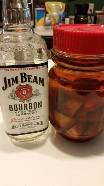 """""""Homemade"""" Strawberry Bourbon"""