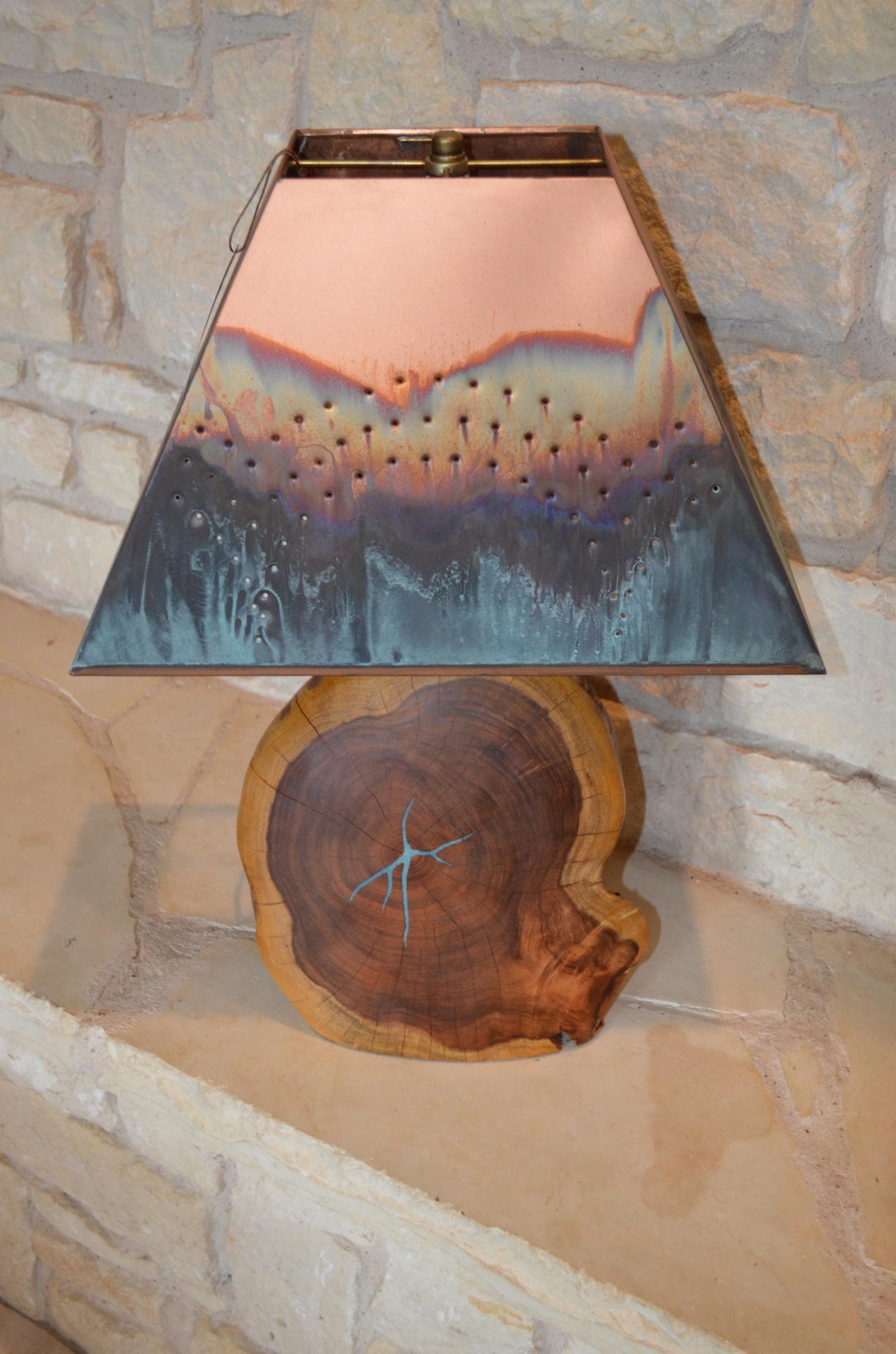 """20"""" Mesquite Lamp"""