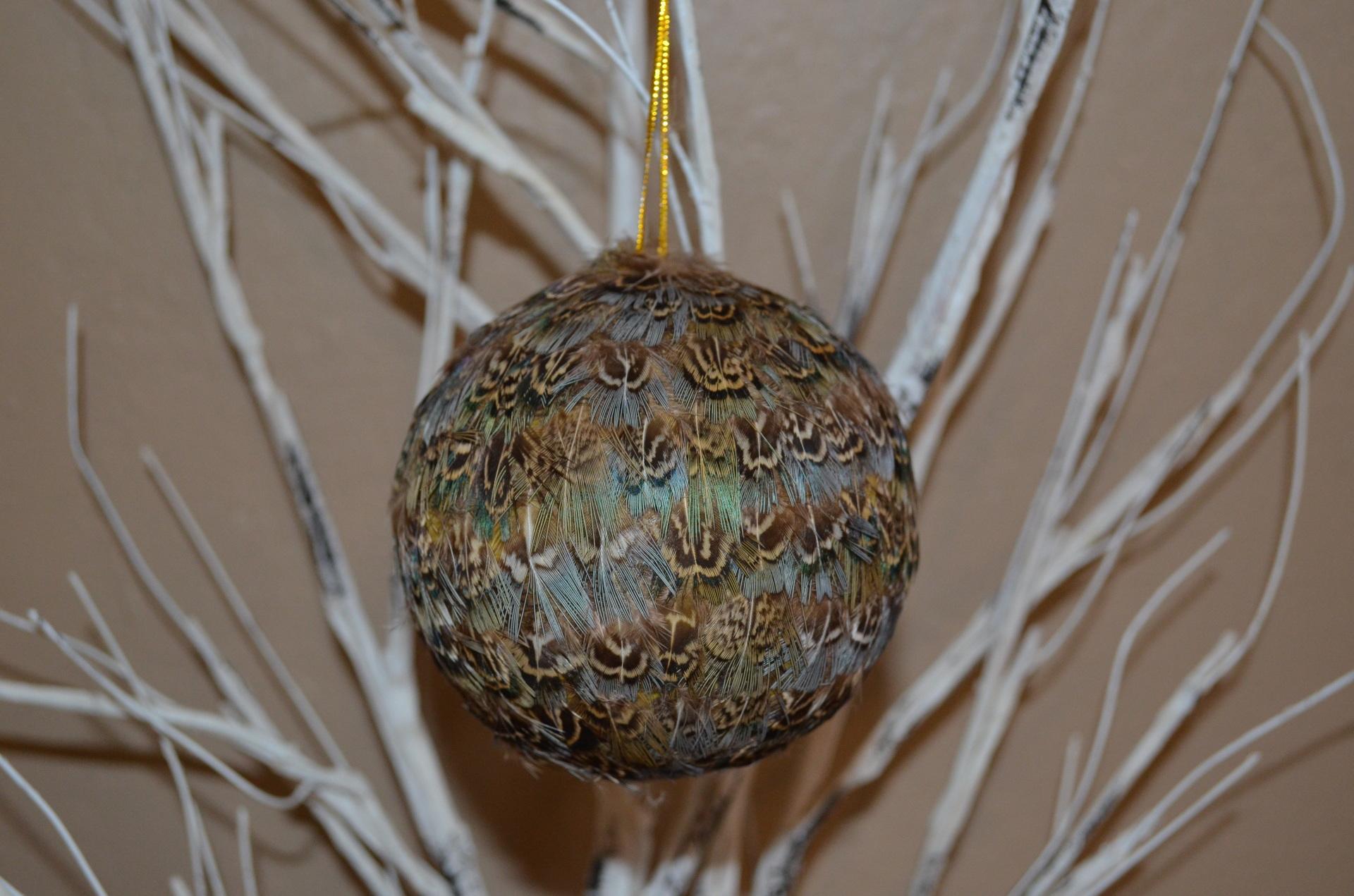"4"" Ball ornament-BLUE"