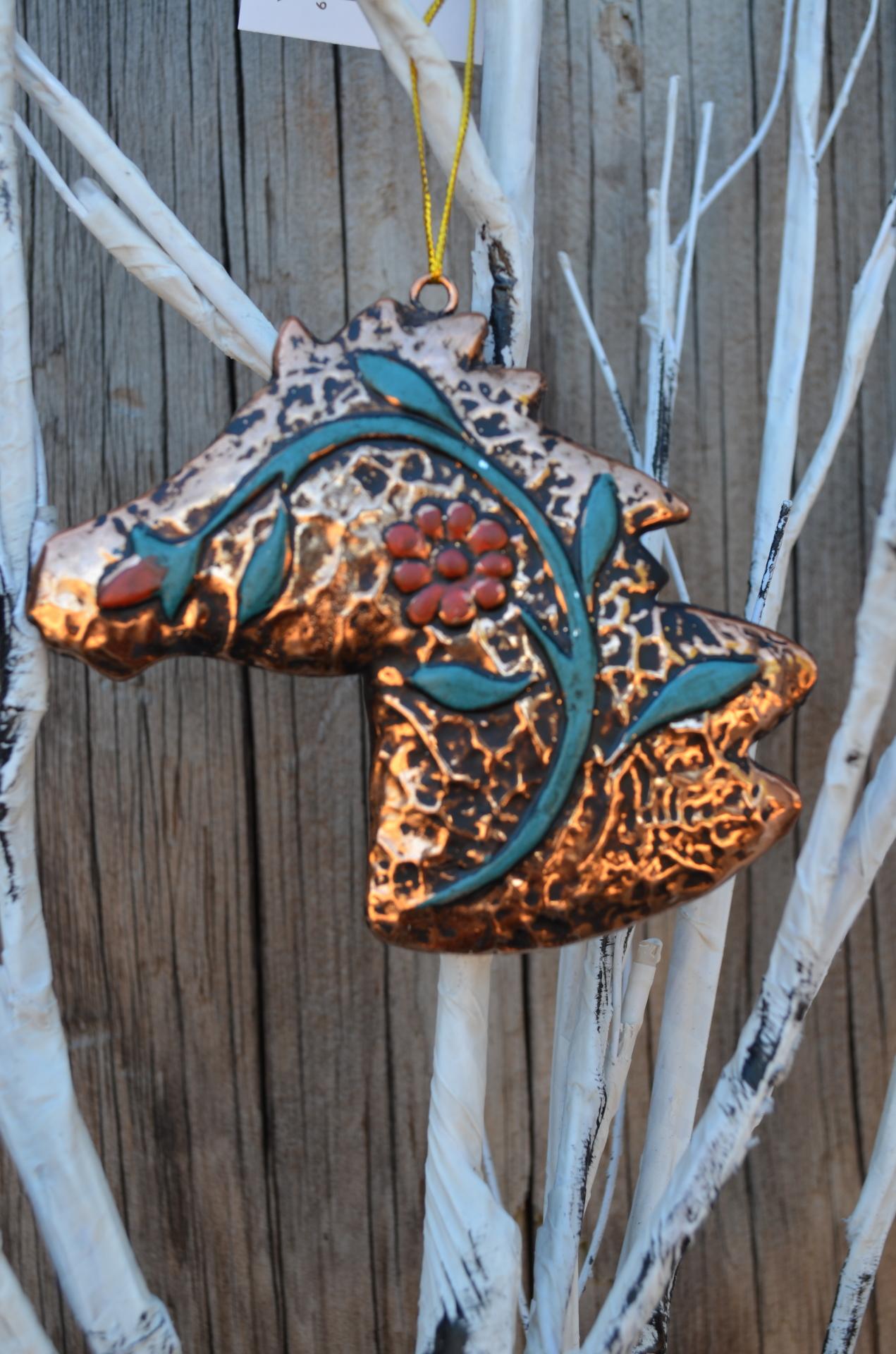 Western Gold Ornament Set
