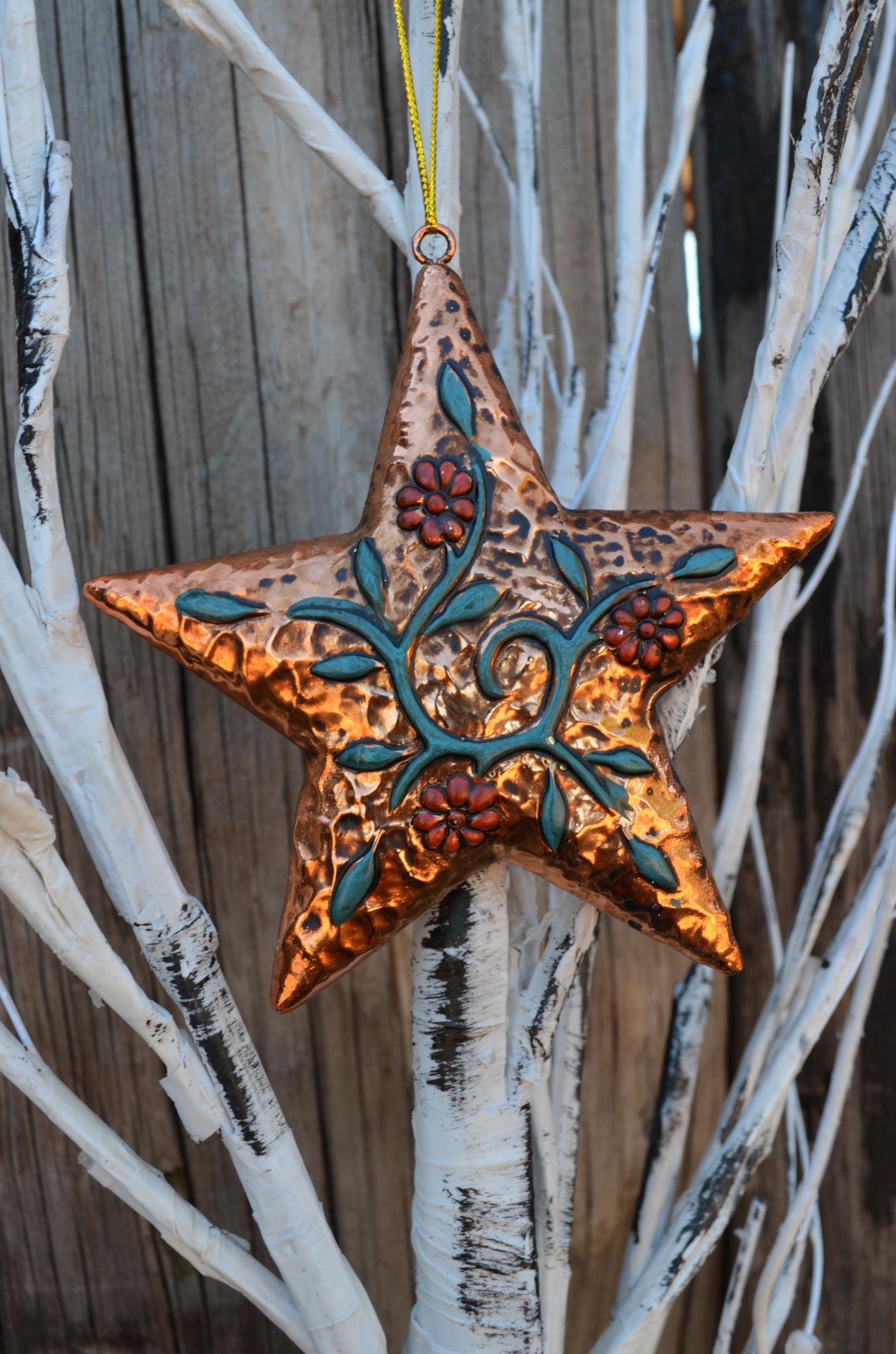 Texas Gold Ornament Set