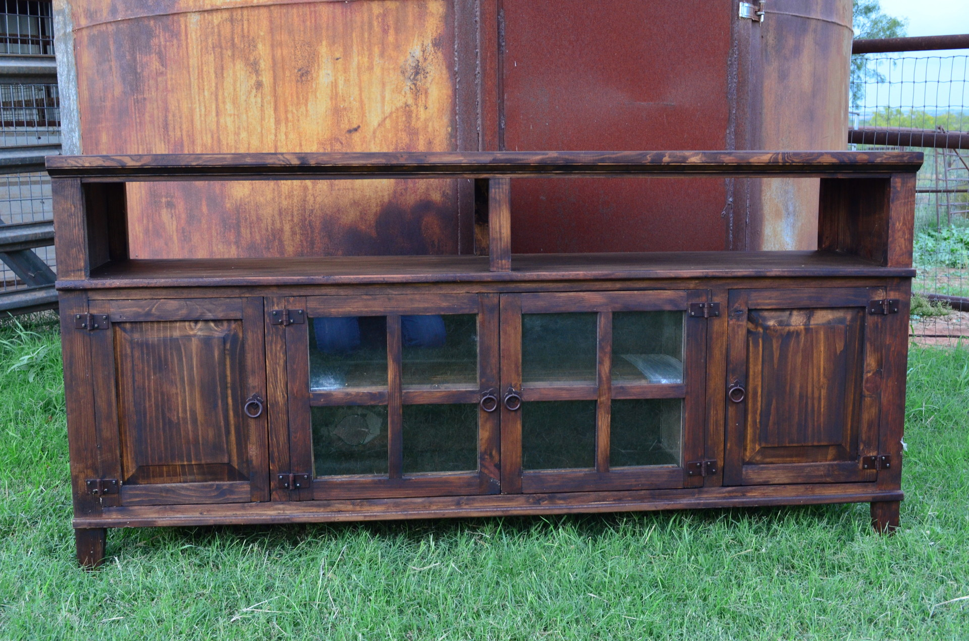 """Rustic 72"""" TV Stand"""