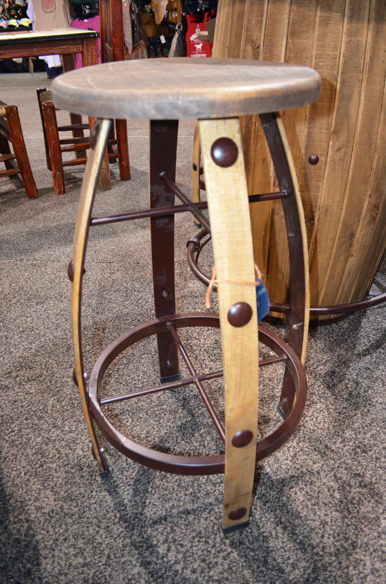 Round Bar Stool $248