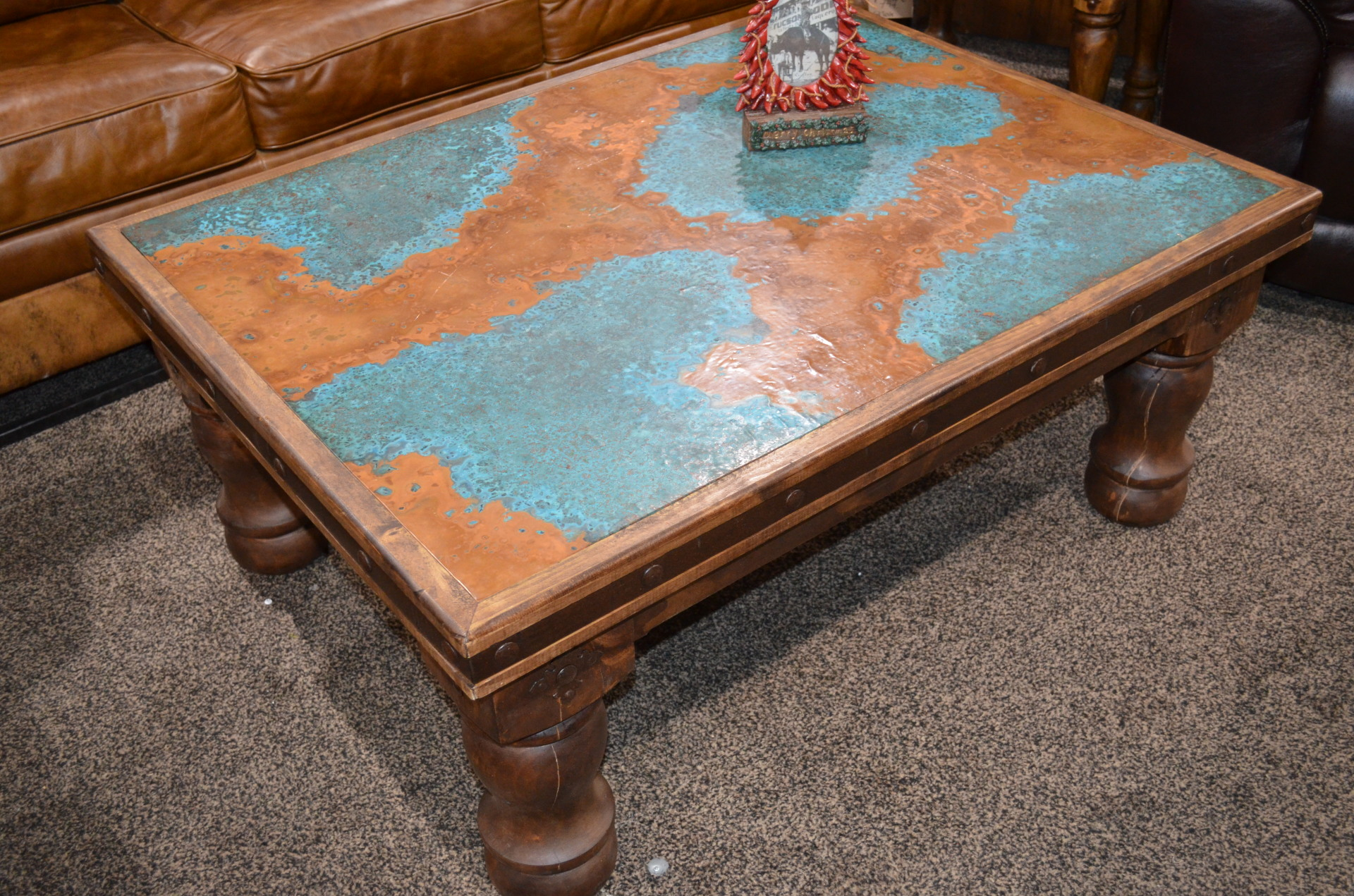 Copper Coffee Table. $1247