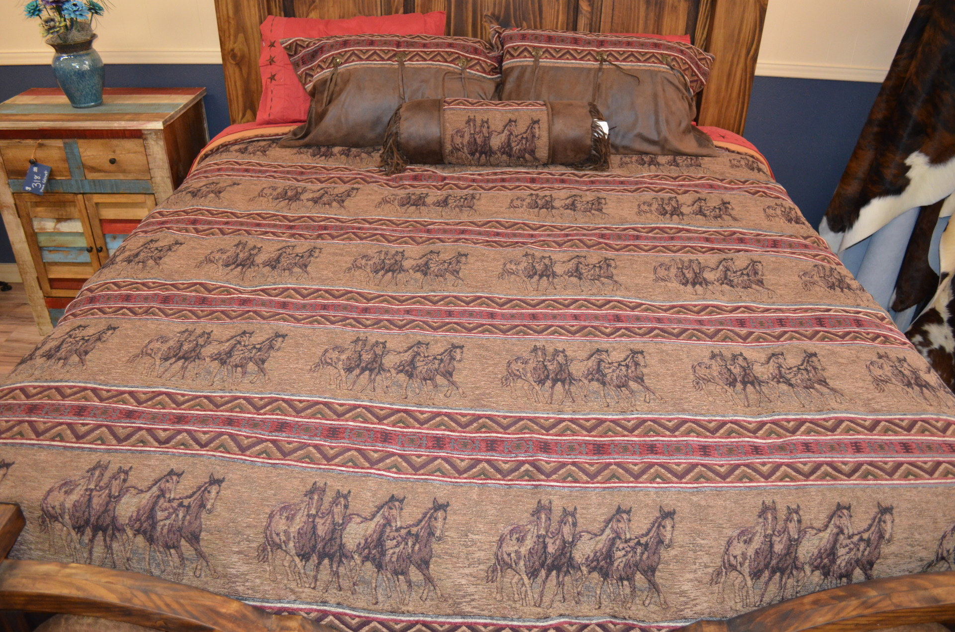 Running Horse Bedding-SUPER KING $379.99