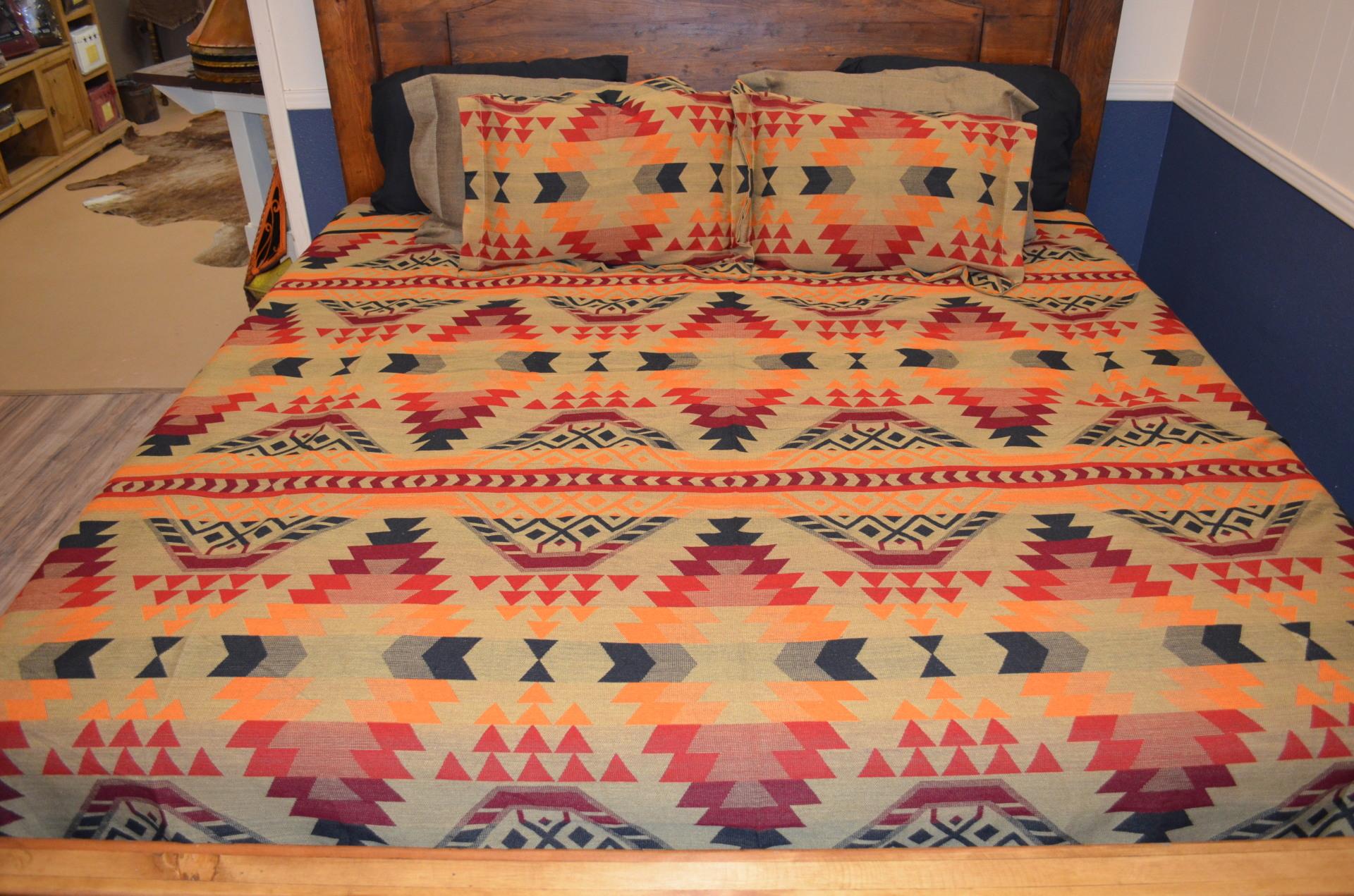 El Paso 7010 Aztec Bedspread- $90.00