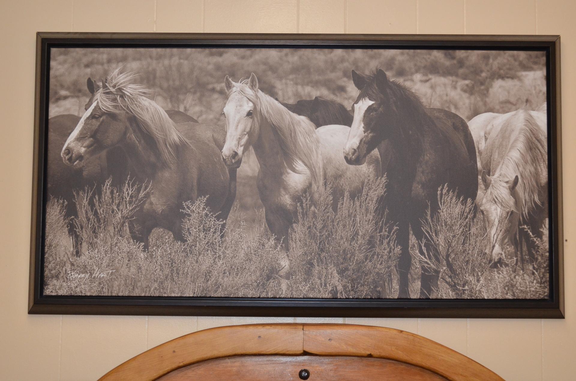 Canvas Horse Print-$178.00