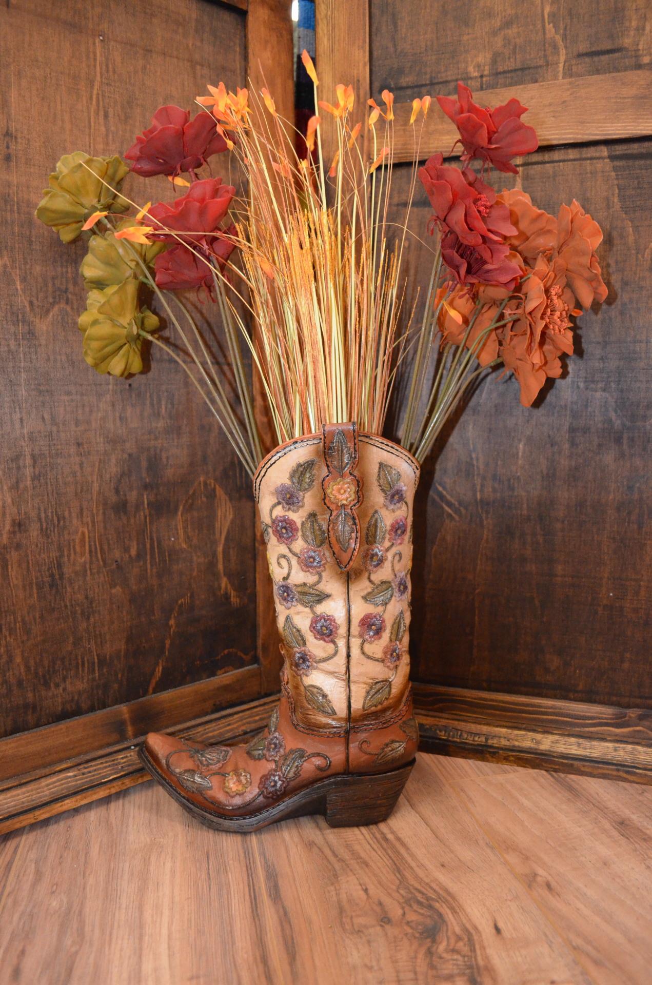 Boot Vase/Planter- $29.99