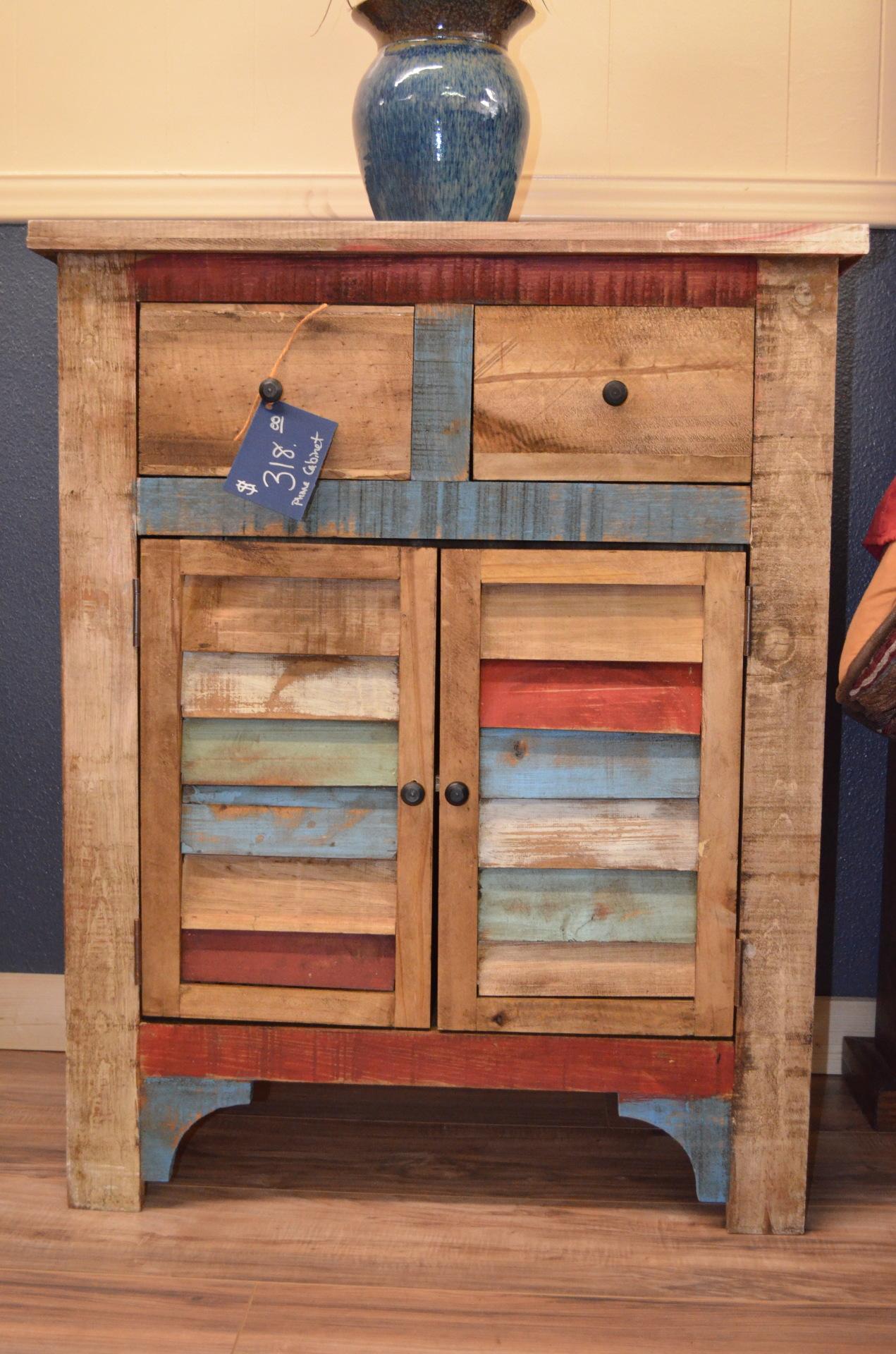 Multi Color Cabinet-$318
