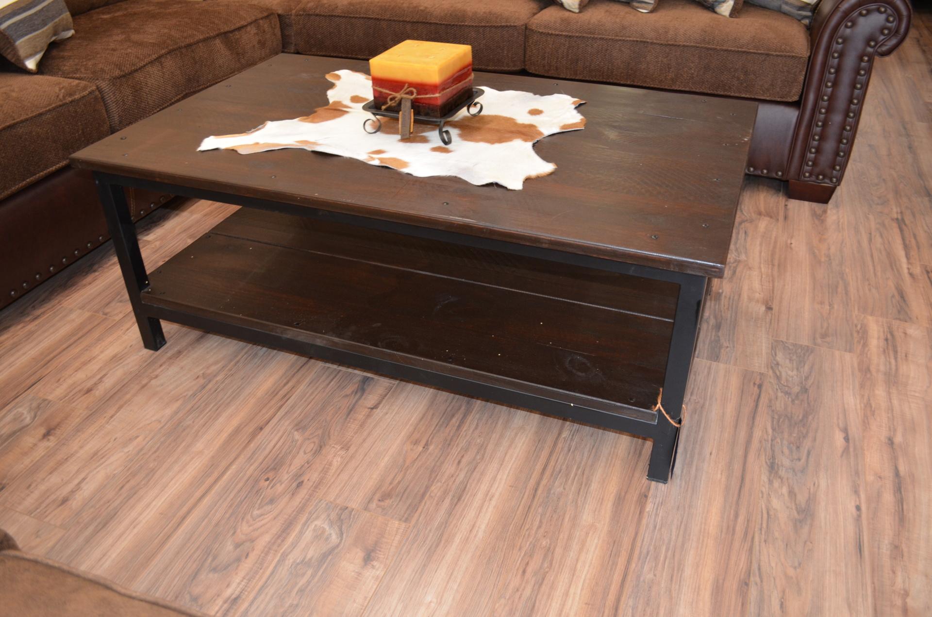 Reclaimed Iron Coffee Table-$278