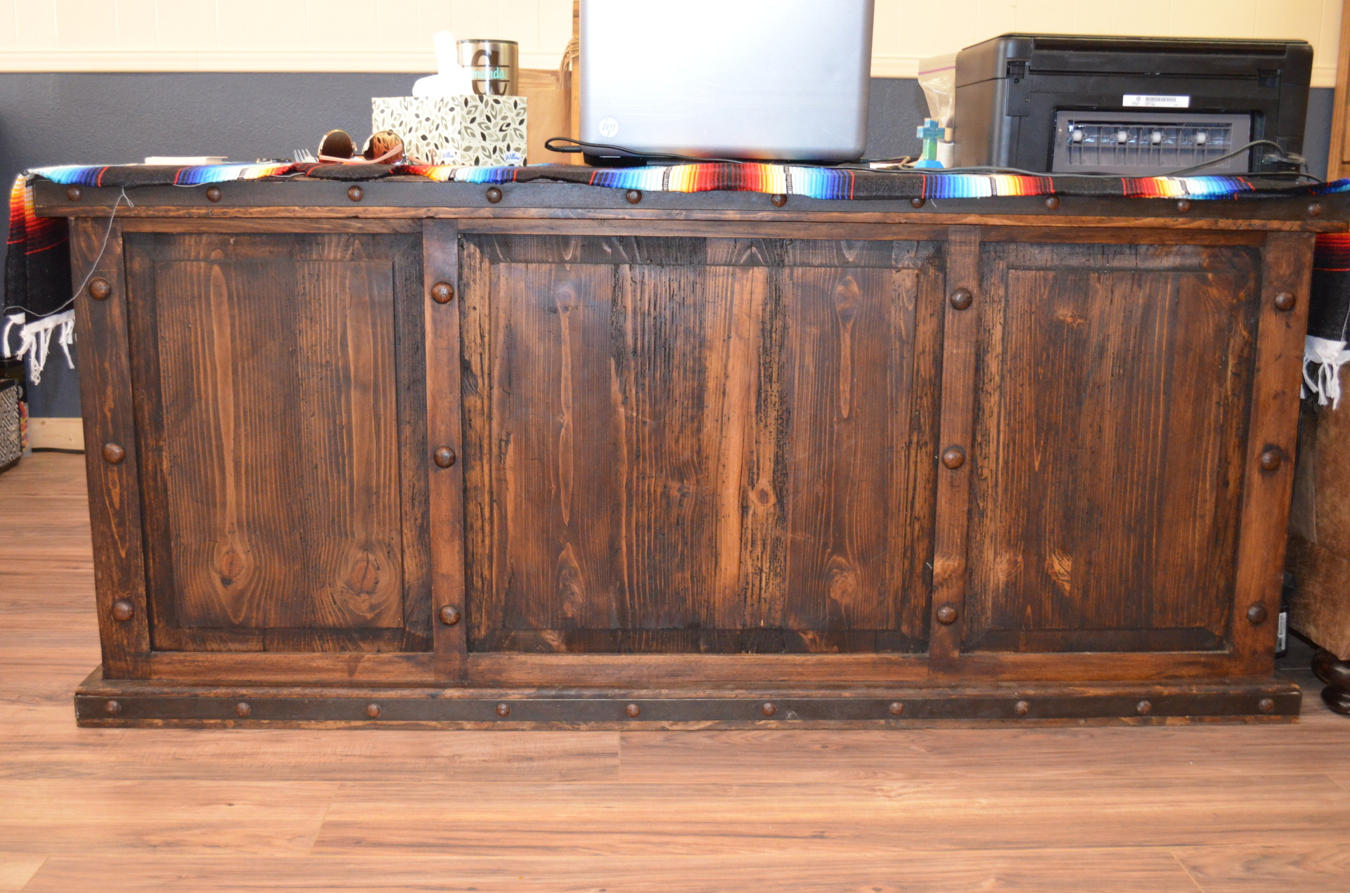 Reclaimed Wood Desk-$998