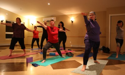 beginners yoga Miramichi NB