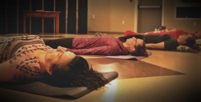 Relaxation restorative yoga class Miramichi NB